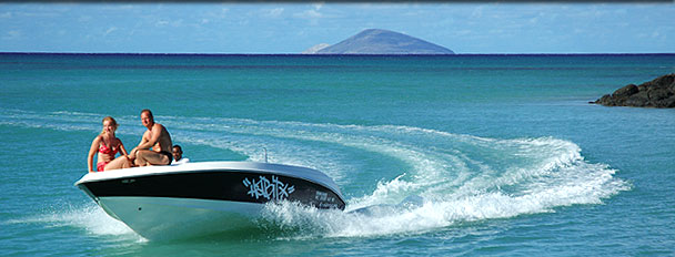 Explorer speedboat trips in the north of Mauritius